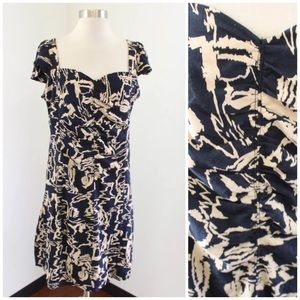 Marc by Marc Jacobs Abstract Gathered Dress